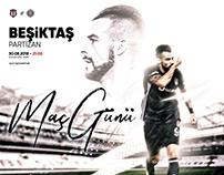 Beşiktaş JK Matchday Designs'18 #1