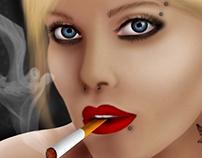 Digital Portrait Woman