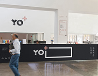 YO+跨境商品生活馆logo/VI设计