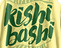 "KISHI BASHI ""Palm Fronds Tank Tops"""