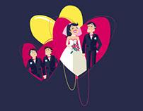 Infographie Le Mariage et les blogs