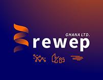 Logo Design - REWEP GHANA LTD.
