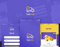 Truck Kwik - Mobile App Design