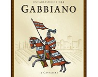 Castello di Gabbiano Labels Illustrated by Steven Noble