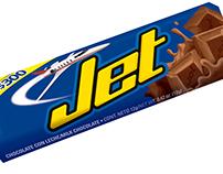 ilustración chocolate jet
