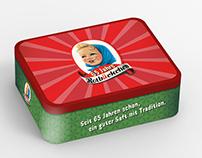 Rotbäckchen Retro Lunchbox