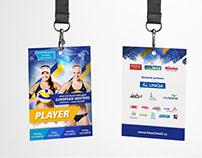 CEV Masters Pelhřimov / beachvolleyball key visual