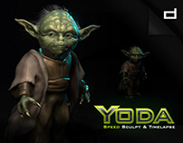 Yoda   Sculpt & Timelapse