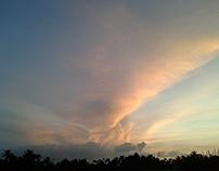 Sunset, sky on sunset