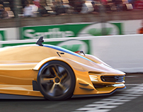 Ferrari Chinetti LMP1, BA Thesis