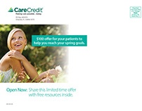 CareCredit Cosmetic Consumer Offer