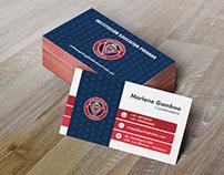 Diseño de Logotipo y tarjeta Springfield School