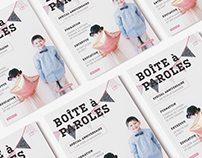 LA BOÎTE À PAROLES (Magazines)