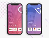 Iphone X Resume Design
