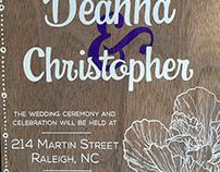 Wedding Invitations - Cardamone Wedding