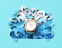 Telesto | Paper art