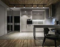 Stylish contemporary apartment, Kiev