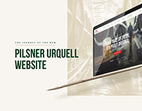 Pilsner Urquell Website Redesign