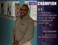 URS (Australia): GESI Champions
