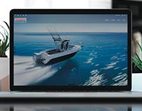 HONDA MARINE - WEB Design