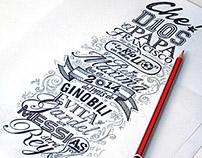 Lettering Mundialista 2014