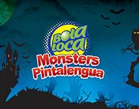 Bola Loca Monsters Pintalengua