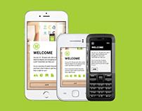 Harambee- Basic Smartphone & Featurephone mobisite