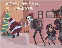 Shadowrun Christmas Cards