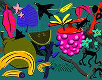 Imaginative fruits