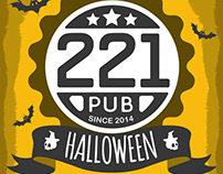 Halloween in 221PUB