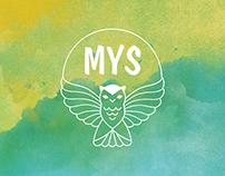 """Logo """"MYS"""""""