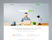 Taskque - Website Redesign