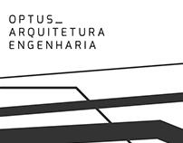 Branding: OPTUS Arquitetura e Engenharia