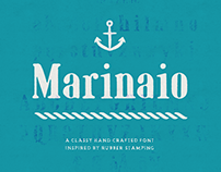 Marinaio Serif (Rubber Stamp Font)
