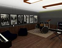 Centro de Reabilitação - Sala de Música
