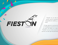 FIESTÓN WEB AND LOGO
