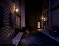 Victorian London Alley