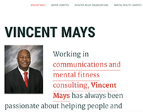 Vincent Mays Charitable Giving Website
