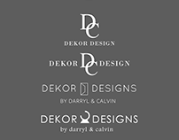 DEKOR DESIGNS - Logo Commission