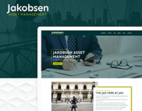 Jacobsen Asset Management - Website Design