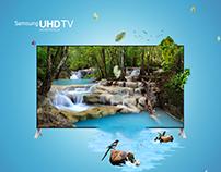 4K UHD TV Samsung