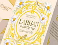 Chamomile tea packaging design/ Kamille tee
