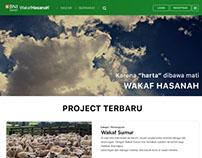 BNI Wakaf Hasanah - FrontEnd