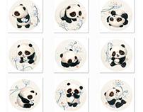 【中国熊猫】荷花篇