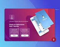 pop-up design for the web Designux