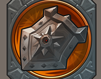 Game art: Shield icon