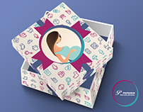 """Babies and Moms"" gift box"