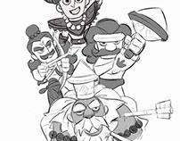 Characters from Mahabharata