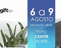 Carta Convite - Nova House & Gift Fair 2016
