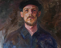 Self Portrait at age 34